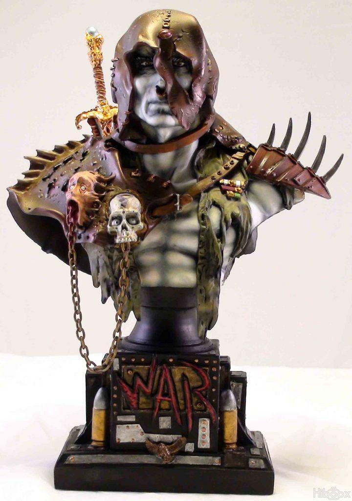 Buste War par Krichaorh
